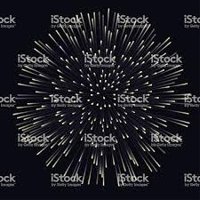 夜背景花火を破裂記念日に花火 お祝いのベクターアート素材や画像を