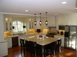 Pendant Lights For Kitchen Islands Lighting Over Large Kitchen Island Best Kitchen Island 2017