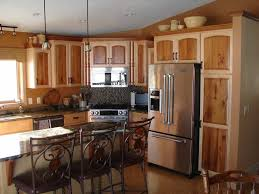 image of two tone kitchen design
