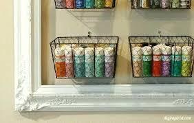 diy craft vinyl storage craft storage ideas tip 1 check retail dollar bins frame to
