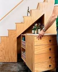 stairs furniture. utilize the space under stairs furniture