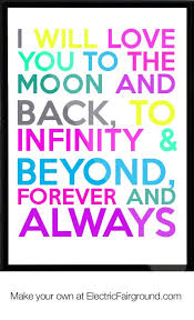 Quote I Love You To The Moon And Back Custom I Love You To The Moon And Back Quotes Will Love You To The Moon