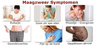 Maagzweer symptomen diarree