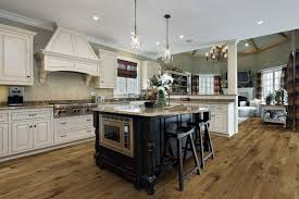Small Picture Rustic contemporary kitchen design with Monterey floors