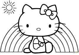 Hello Kitty Coloring Pictures Hello Kitty Drawings Hello