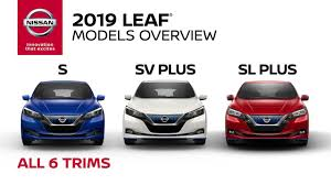 2019 Nissan Color Chart 2019 Nissan Leaf Electric Car Walkaround Review