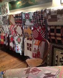Mary Elizabeth Kinch & Grafton Village Quilts - Quilts on racks Adamdwight.com
