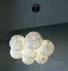 ball chandeliers