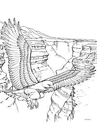 Small Picture Bald Eagle Coloring Pages For Kids Coloring Home