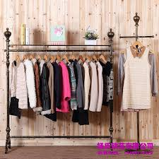 Young Wrought Iron Clothing Rack Clothing Store Display Racks for Hanging Clothes  Rack Clothing Racks Landing Pendant Online with 21203Piece on Xwt5242u0027s