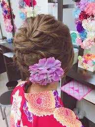 着物姿に似合うボブのヘアセットをご紹介着物レンタル 梨花和服