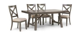 Omaha Dining Table With 4 Side Chairs | HOM Furniture