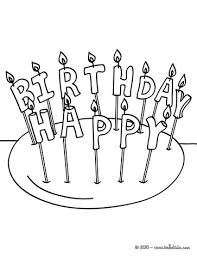 Small Picture Birthday candle 11 years coloring pages Hellokidscom