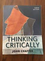 Thinking Critically  John Chaffee    th Edition  Cengage Learning     iOffer