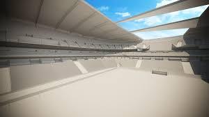 Football Stadium Design Software Football Stadium Game Ready 3d Model Details Quality