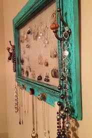 Jewelry Holder Wall Best 20 Diy Jewelry Holder Ideas On Pinterest Diy Jewelry