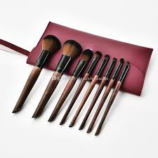 oblique l coffee black makeup brush set makeup tools kit with bag super nice beauty essential brush set t 08 06 foundation brush makeup box from