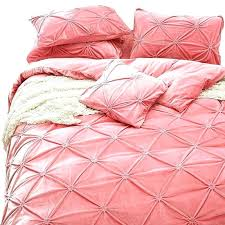 red velvet bedding comforter pink pillowcases bedspread upgraded set bed linen for winter twin quilt com red velvet bedding