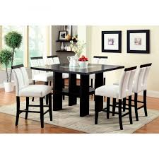 furniture of america dining sets. Furniture Of America Luminate Contemporary 7 Piece Illuminating With Square Counter Height Dining Set Sets