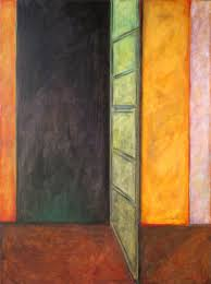 open door painting. Open Door, Looking In Door Painting