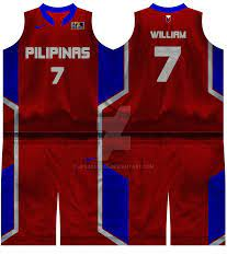 Gilas Pilipinas - Red Away Jersey by ...