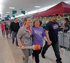 Photos: Relay for Life in Northridge Plaza mall   Local News Stories    capjournal.com