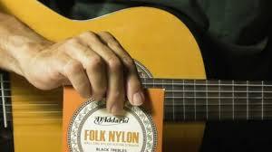 ball end nylon strings. how to restring change nylon guitar strings review d\u0027addario ej34 ball end folk classical ball