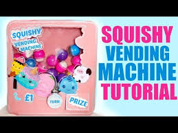 How To Make A Squishy Vending Machine Custom DIY SQUISHY VENDING MACHINE Getplaypk The Fastest Free Y