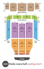 City Hall Live Brandon Ms Seating Chart Faq Thalia Mara Hall