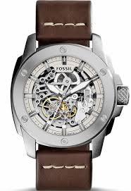 men s fossil machine automatic steel watch watch men s fossil machine automatic steel watch me3083