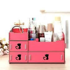 wooden makeup organizer with drawers wooden cosmetic storage box drawer makeup organizer case storage holder stationery wooden makeup organizer