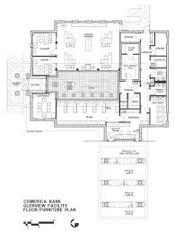 Branch Banks Glenview Floor Plan Bruce F Roth Architect