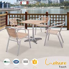 aluminum restaurant patio furniture. popular outdoor furniture aluminum table and chair for restaurant patio .