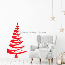 Creative Christmas Decorating Ideas With DecalsChristmas Tree Decals
