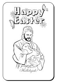 jesus easter coloring pages. Delighful Easter Jesus Easter Coloring Pages Happy Religious  Printable  For Jesus Easter Coloring Pages N