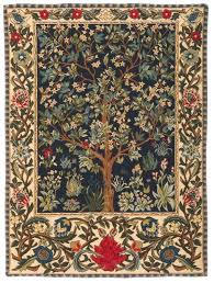 tapestry wall hanging tree of life tree