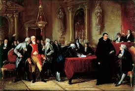 declaration of independence signing painting venezuela s declaration of independence in 1810
