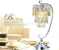 amazing crystal chandelier table lamp or chandelier table lamps whole cordless crystal bead chandelier table lamp