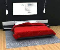 Red Black And White Bedroom Ideas To Decorate Your Bedroom With Red ...