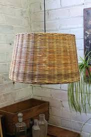basket pendant light. Basket Pendant Light Large Wicker Weave Lamp