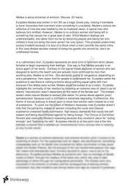 medea essay on jason year vce english thinkswap english medea essay