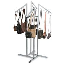 Handbag Display Stands Simple Handbag Rack With Waterfall JHook Arms Specialty Store Services