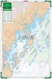 Casco Bay To Monhegan Me Large Print Navigation Chart 101e
