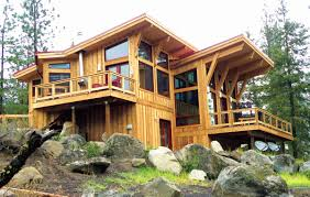 post and beam house plans. Fine House Open Concept Post And Beam House Plans  With And B