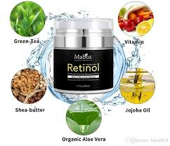 retinol 2 5 moisturizer face cream vitamin e collagen retin anti aging wrinkles acne hyaluronic acid green tea whitening cream dhl foundation for dry skin