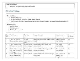 Pass Ui Test Case Template Cases For Testing Mobile Phone – Vanilja