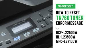 Developed to optimize efficiency, this replacement for the dcpl2520dw produces a robust and class leading print speed of up to 32 pages per minute (1) new, user friendly features : How To Manual Reset Tn760 Replace Toner Error On Brother Dcp L2550dw Hl L2390dw Mfc L2710dw