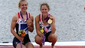 Rowers Katherine Copeland and Sophie Hosking | Katherine copeland, Olympic  gold medals, Gold medal winners