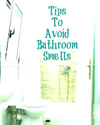 musty smell in bathroom stinky sink drain smelly bathtub remedy b