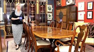 Baker Dining Room Table Baker Furniture Dining Table Youtube